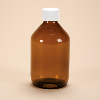 200ml Amber Glass Medicine Bottle with Cap