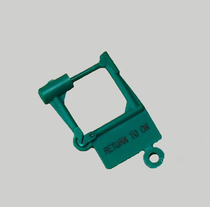 Spring Lok Pre-Printed Locking Tag