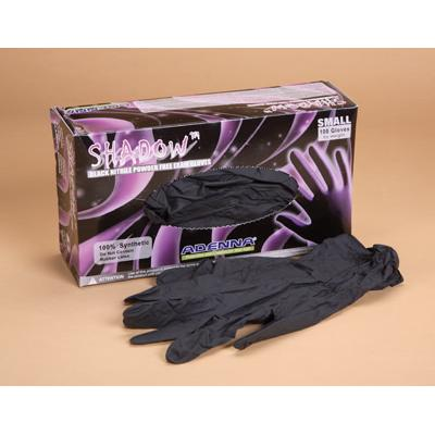 Shadow™ Powder Free Nitrile Exam Gloves, Black