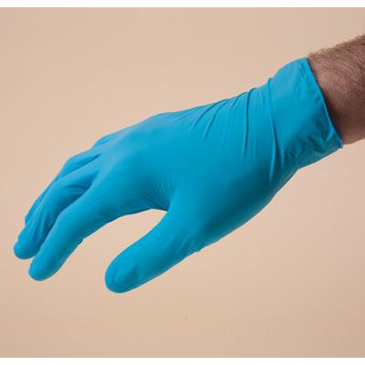SemperCare blue gloves