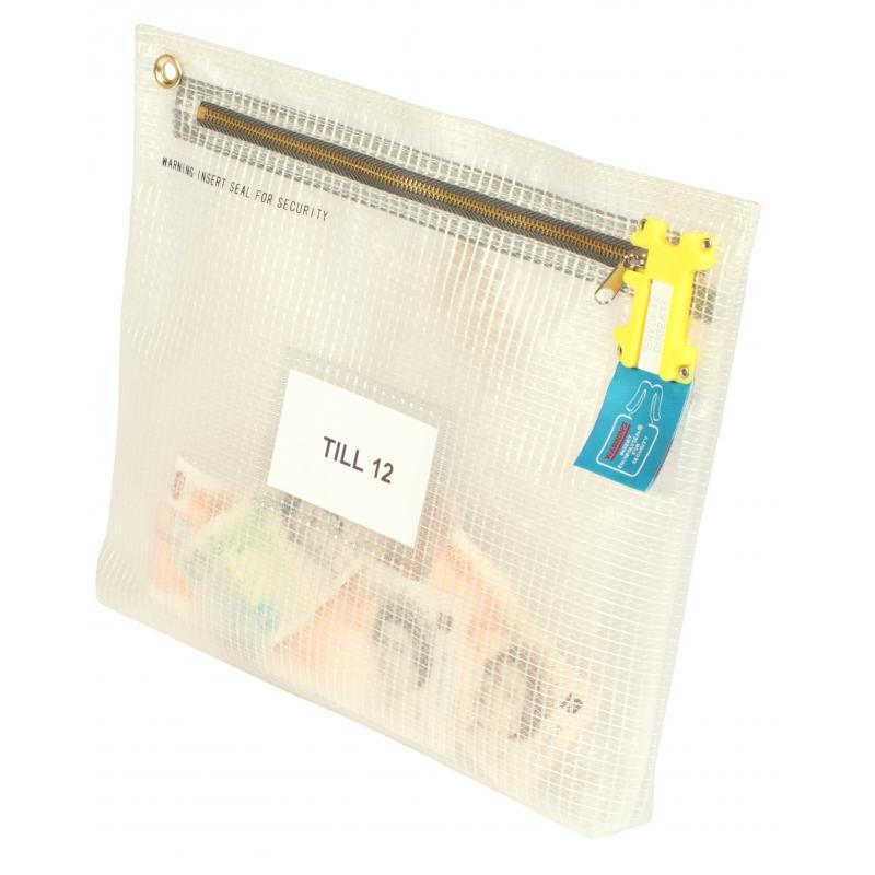 cash bag - tamper proof money bag