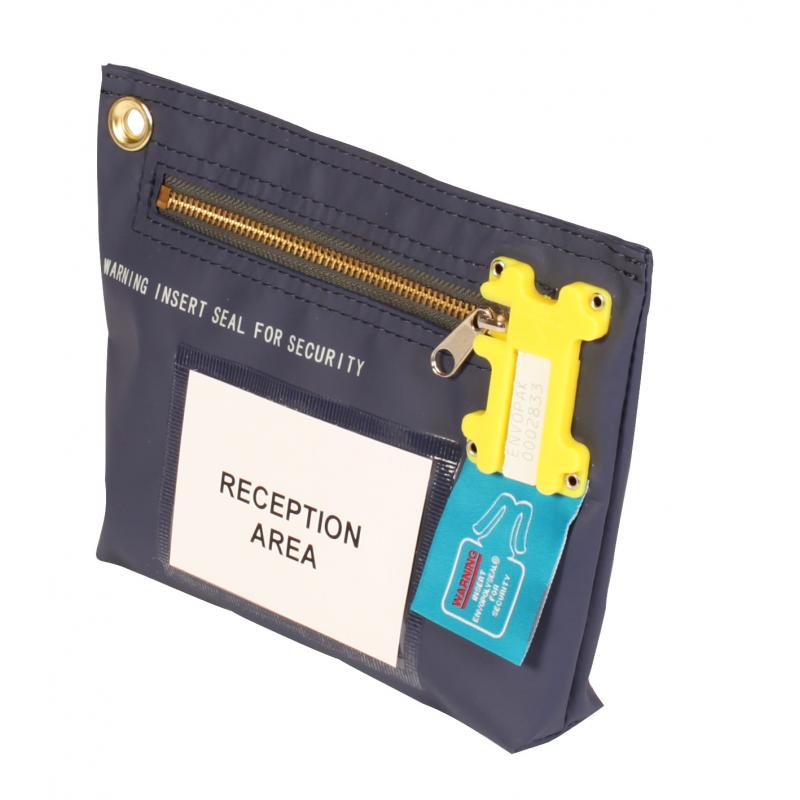 key pouch - reusable security bag