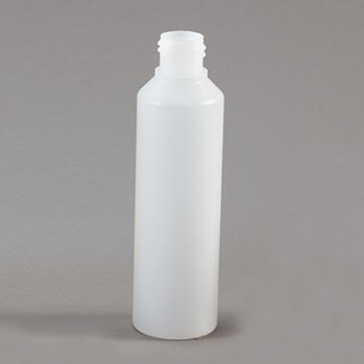 250ml cylinder plastic bottle