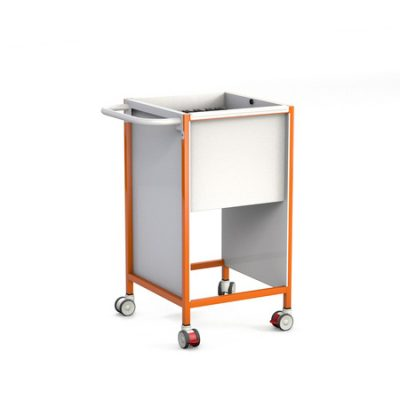 500 slimline PATIENTS NOTES TROLLEY