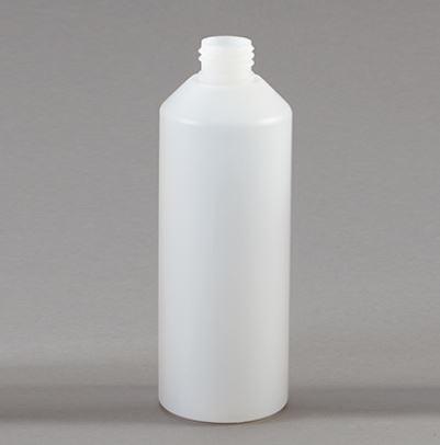 500ml cylinder plastic bottle