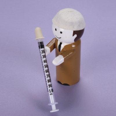 Monoject Oral Dispenser 1mL Clear