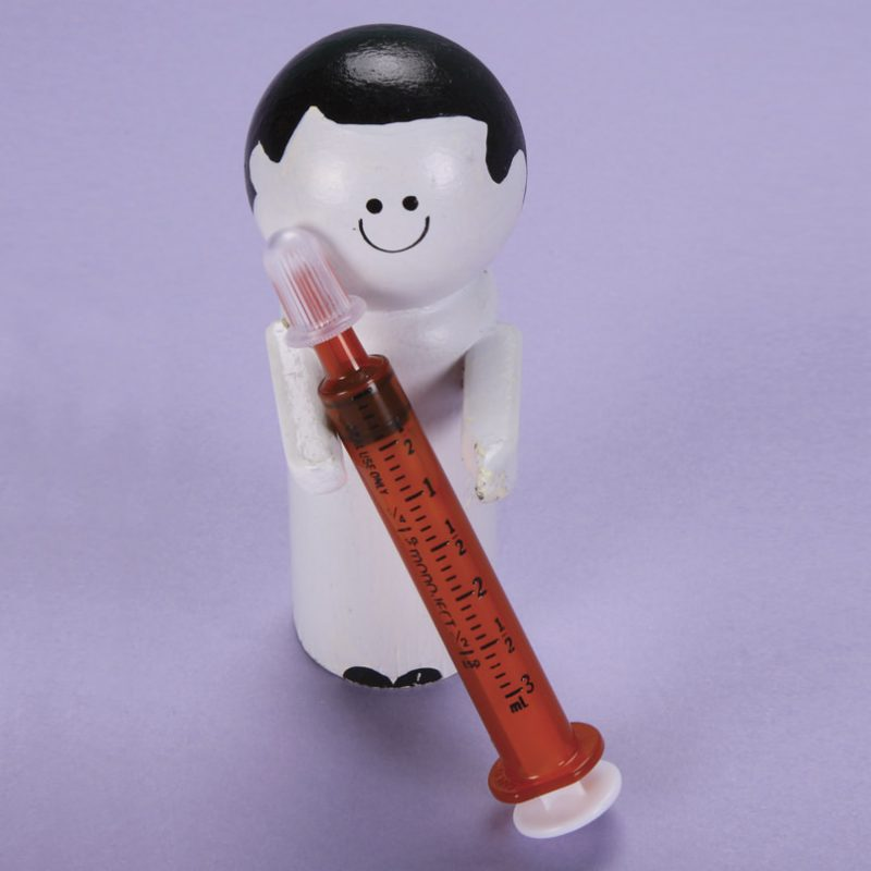 Monoject Oral Dispenser 3mL Amber