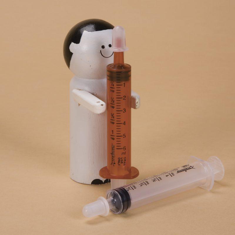 Monoject Oral Dispenser 6mL Amber