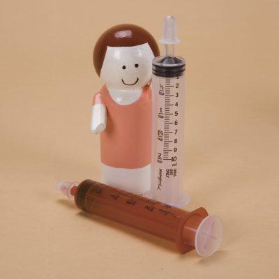 Monoject Oral Dispenser 10mL Amber