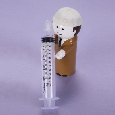 Monoject Oral Dispenser 10mL Clear