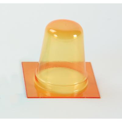 Round Extra High Barrier Blister, Amber, 1 Inch Deep
