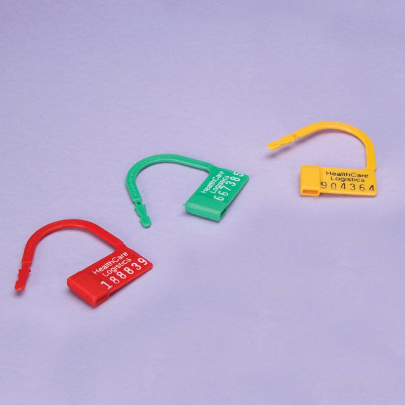 Heavy Duty Unnumbered Padlock Seal in different colour options