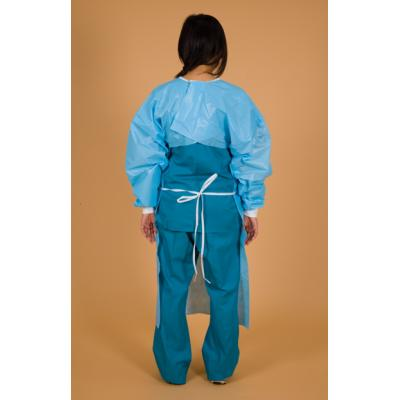 Blue ChemoBloc Poly-Coated Gown