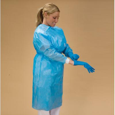 Blue Chemoplus Gown