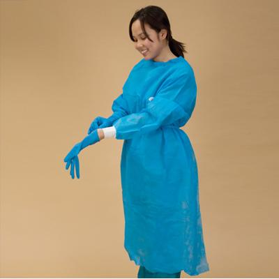 Impervious Chemoplus Gown Blue