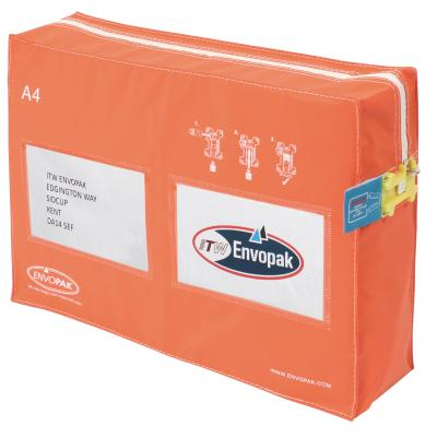 A4 tamper evident package