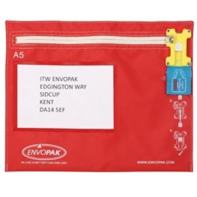 A5 Flat - tamper evident bag security