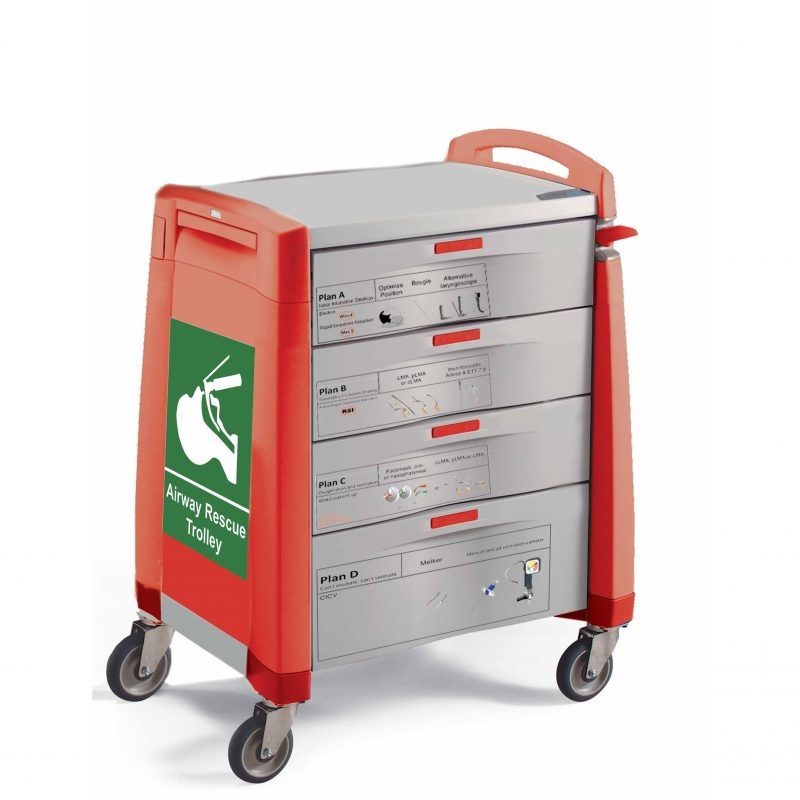 Avalo Difficult Airway Trolley
