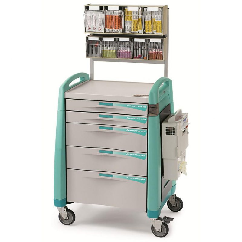 Avalo Anaesthesia Trolley with electronic keypad lock