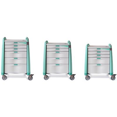 Avalo Anaesthesia Cart size options