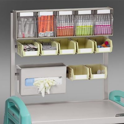 Avalo Anaesthesia Cart with accessories