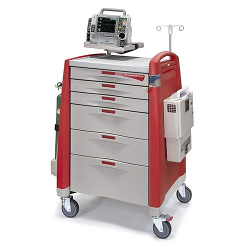 Avalo Emergency Cart – Red