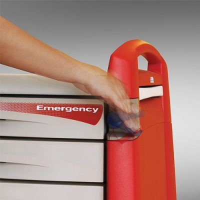 Avalo Emergency Cart – breakaway lock