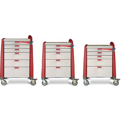 Avalo Emergency Cart in three sizes