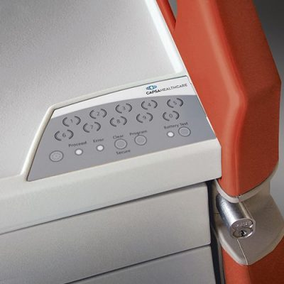 Avalo Emergency Cart keypad lock