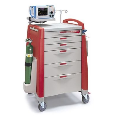 Avalo Emergency Cart with accessories