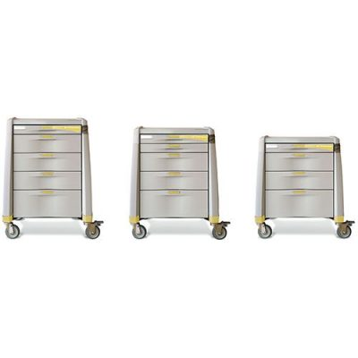 Avalo I.V. Therapy medical trolley in three sizes