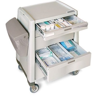Avalo Procedure Cart drawers open