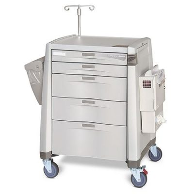 Avalo Procedure Cart with accessories
