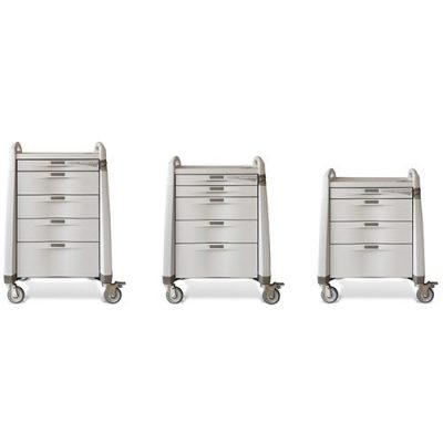 Avalo Series Treatment Cart available in three sizes