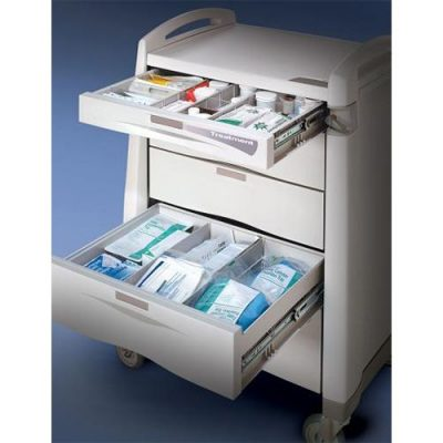 Avalo Series Treatment Cart drawers open