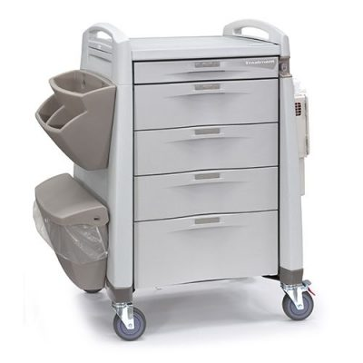 Avalo Series Treatment Cart with accessories