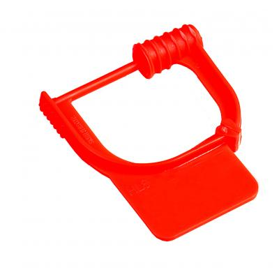 Handy Padlock Seal – Un-numbered in red