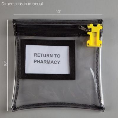 TamperBlock™ Bag, 10 x 10 inch