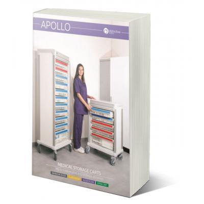 apollo medical storage carts brochure cover