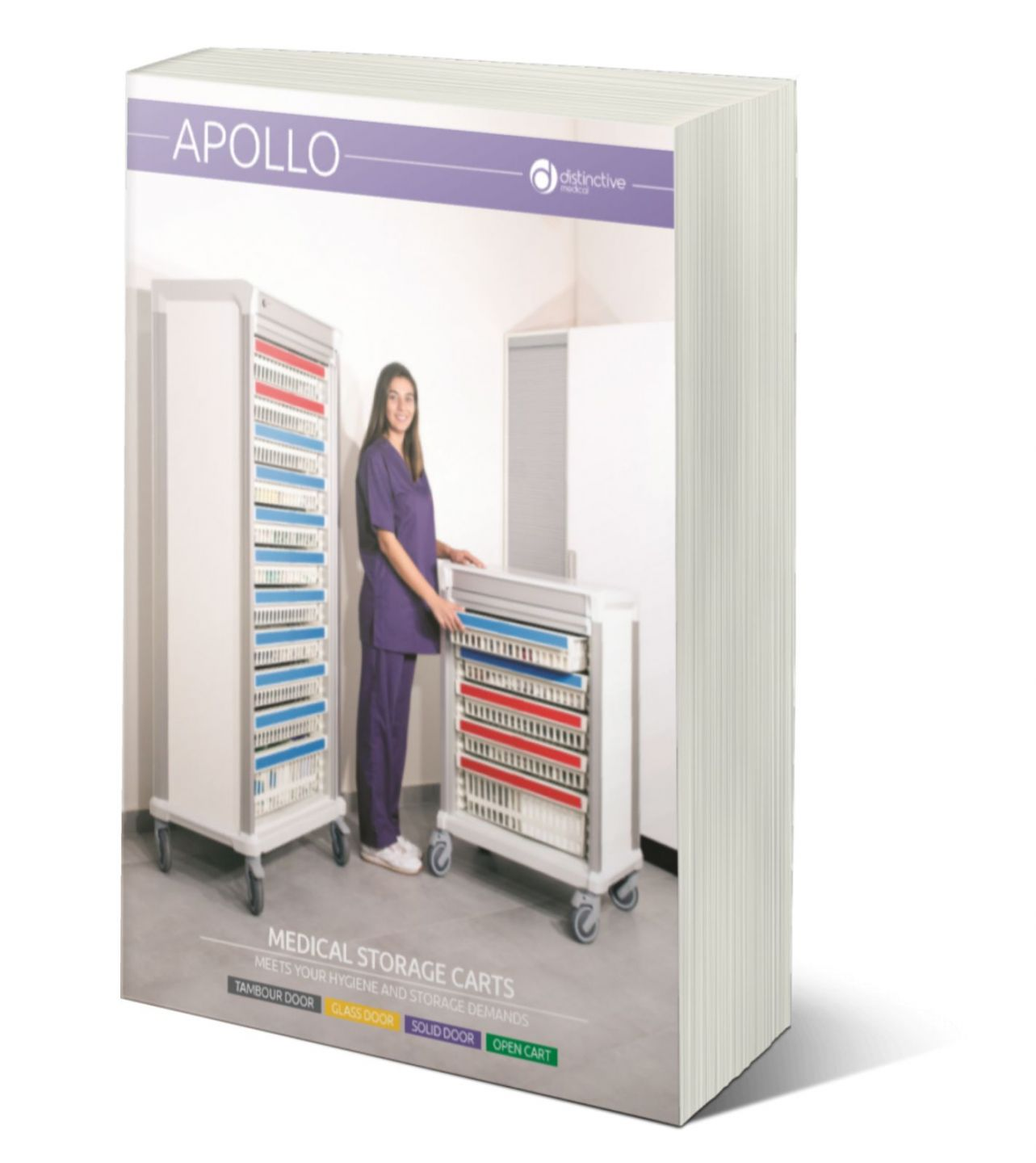 apollo medical storage carts brochure cover