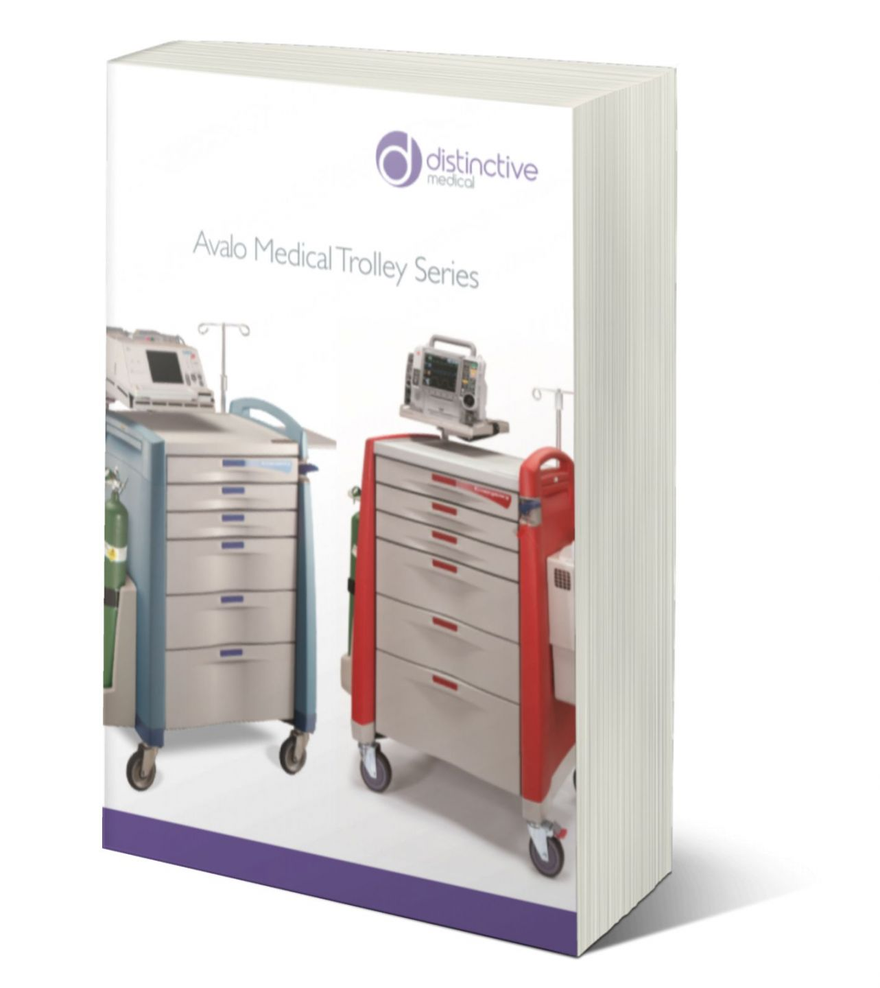 avalo medical trolley series brochure cover