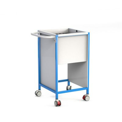 Basic Slimline Patient Notes Trolley