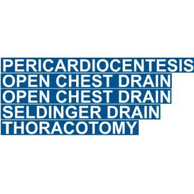 chest trauma drawer labels