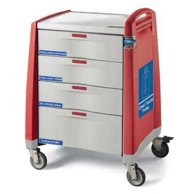 chest trauma trolley