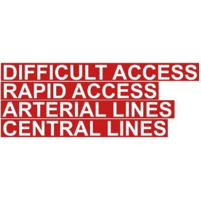 circulatory access drawer labels