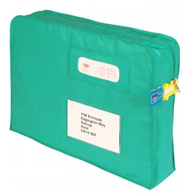 green mailing gusset tamper evident packaging