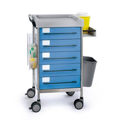 SQ Treatment trolley blue