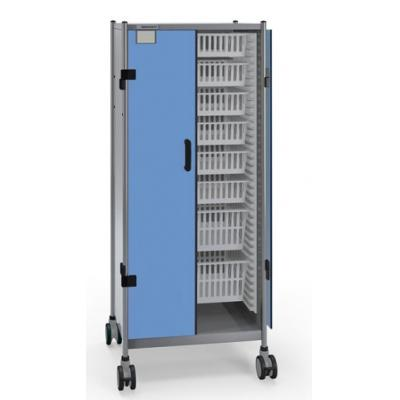 Transport trolley with ISO panels