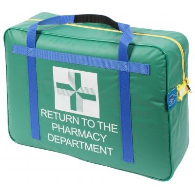 Green Pharmacy Carrier tamper evident lockable bag