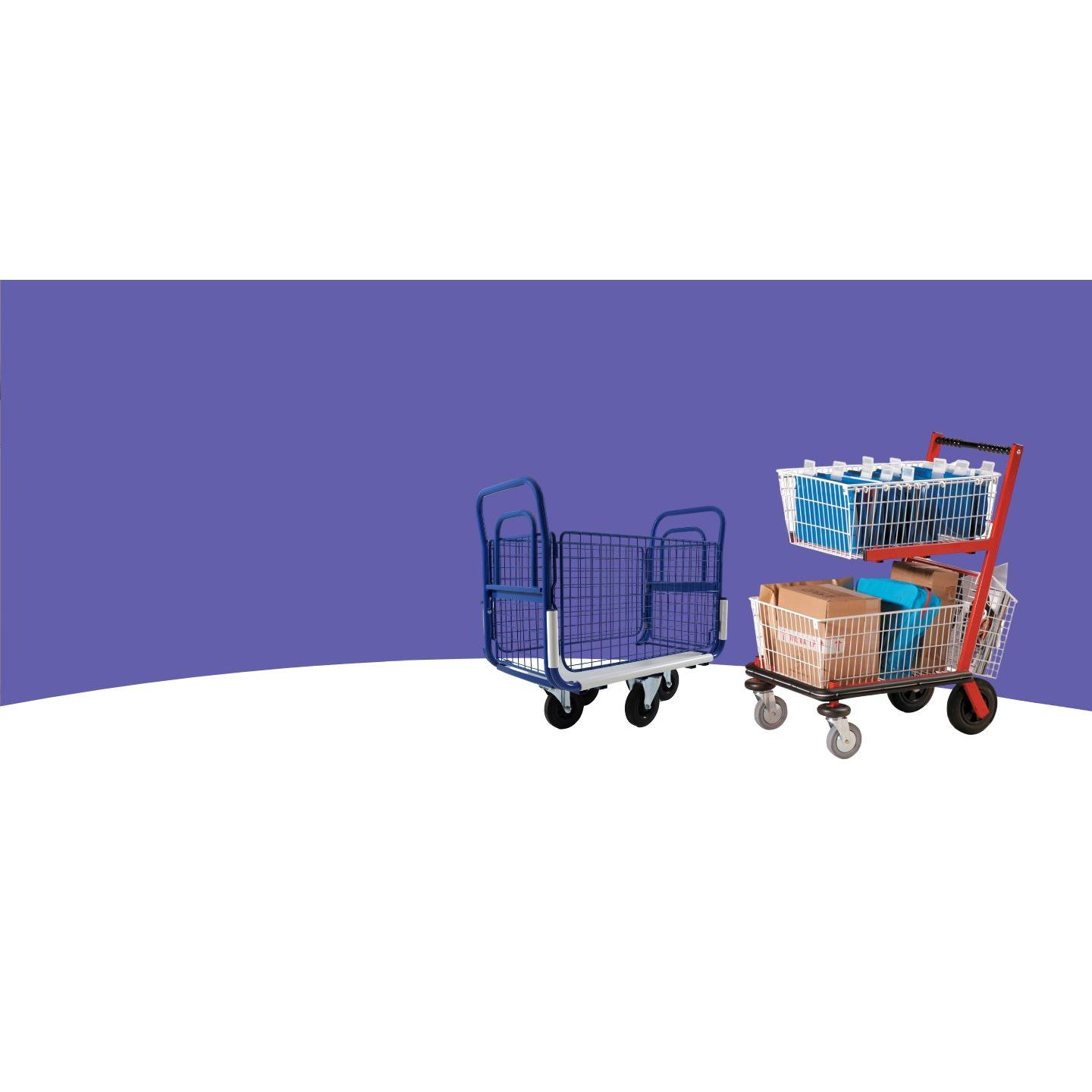 envorsort mailing trolleys for mailrooms